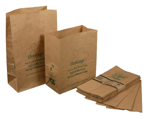 "BioKraft compostable ""caddie"" bags food waste"